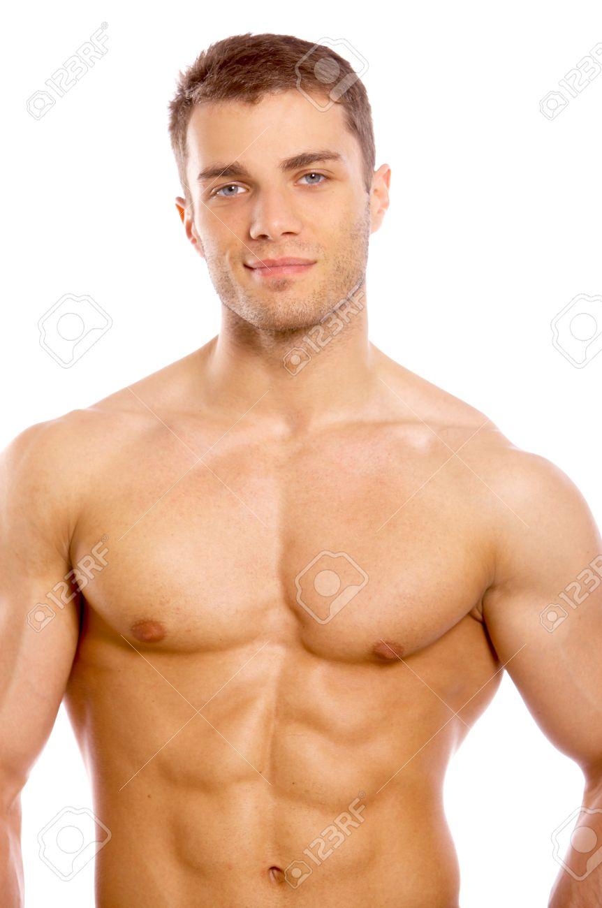 Man sexy wie bild einen nackt