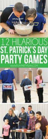 Patricks st erwachsenen tage game party