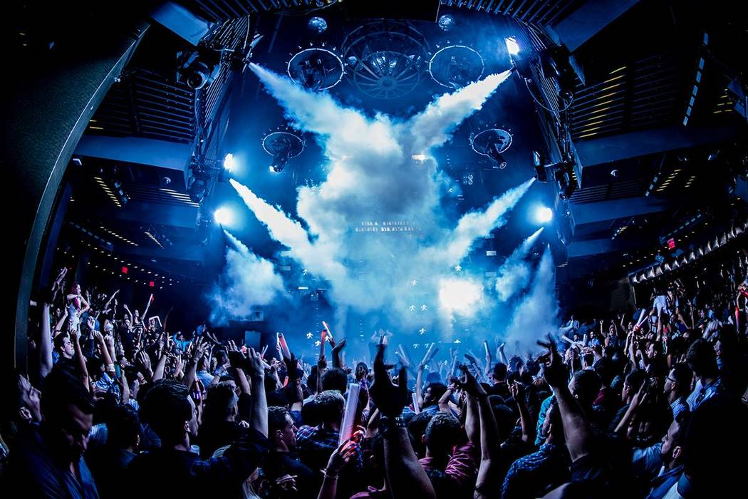 Night club las vegas strip