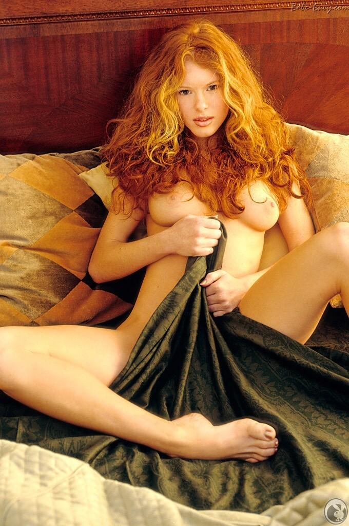 Christensen nude redhead heather playboy