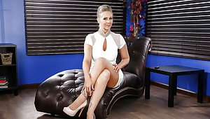 Christina video titten busty modell