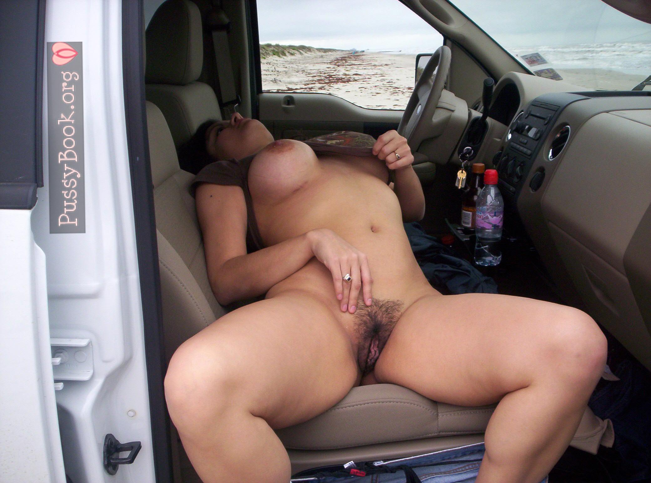 Nackt im auto amateur frauen
