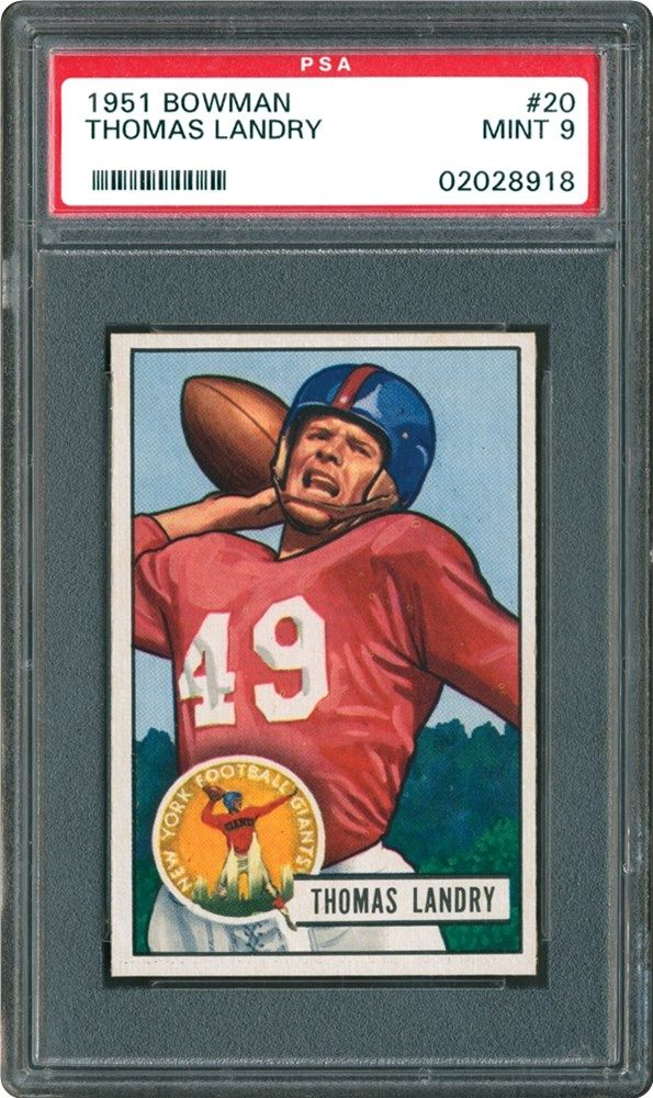Bowman fuball trading cards vintage