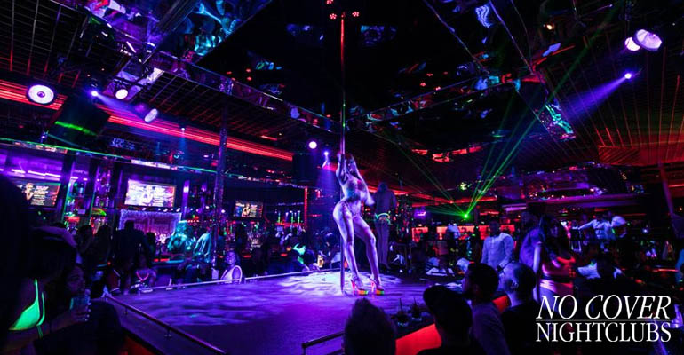 Strip show fotos vegas las