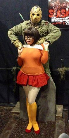 Velma scooby nude doo kostum