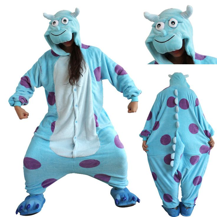 Monster sulley inc kostum erwachsene