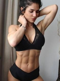 Co ed fitness studio der busty an