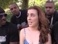 Gang in socken white bang girl