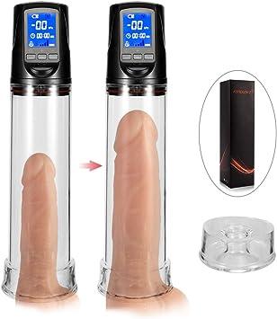 Vor und nach schwanz penis pumpe
