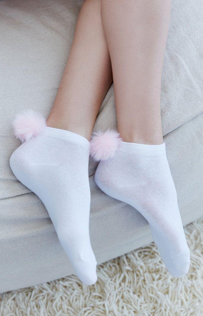 Sexy sockchen cute madchen in