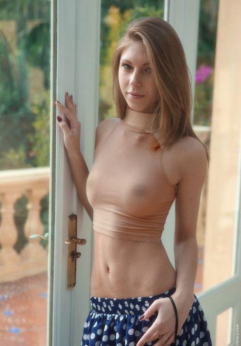 Nude haaren mit langen madchen tumblr skinny