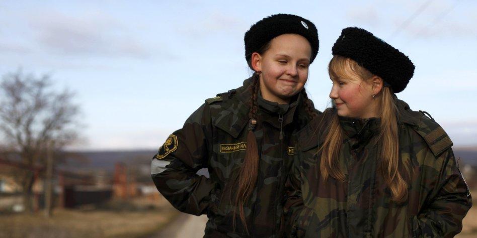 Teenager madchen mal russische ersten