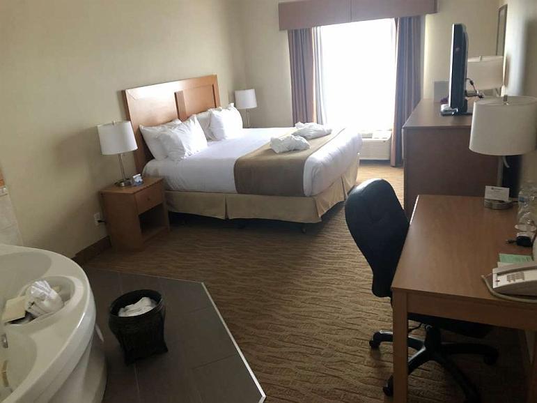 Reisen hotel in hot travis springs mit